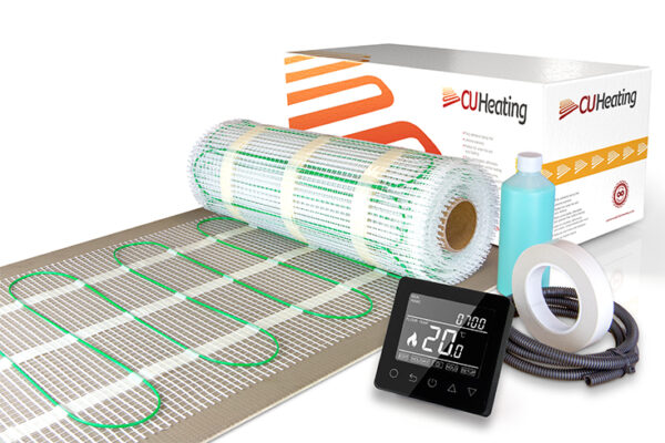 200W/m2 Electric Underfloor Heating Mat Kit
